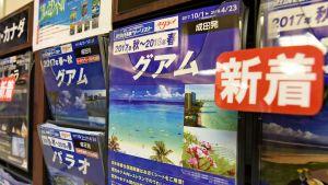 Resebroschyrer i Japan för turister som vill åka till Guam