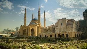 Moskén Al-Amin i Beirut, Libanon.