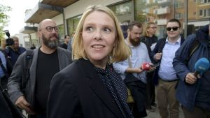 Norges invandringsminister Sylvi Listhaug.