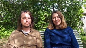 Henry Neuman och Jessika Rapo i Burning Hearts.