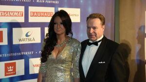 Elina Kiikko och Ilkka Kanerva