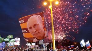Den 18 mars 2017 firades den treårsdagen för den ryska annekteringen av Krimhalvön med en utomhuskonsert i Moskva.