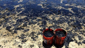 Oljeolycka i Kalifornien 20.5.2015