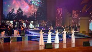 Nordkoreanska Chongbong Band