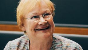 President Tarja Halonen.