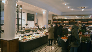 Café Ekberg efter renoveringen.