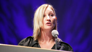 Den danska författaren Naja Marie Aidt.
