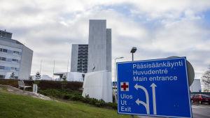 Mejlans sjukhus i oktober 2014
