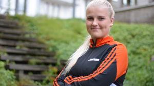 Porträttbild på Josefine Lundström.