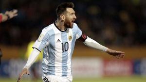 Lionel Messi ledde Argentina till VM-slutspelet i Ryssland.