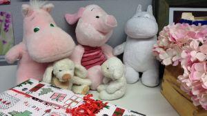 Mjukisdjur och julklappar