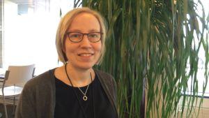 Niina Kilpelä, arkitekt på Invalidförbundets tillgänglighetscenter