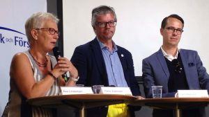 Finlands Carl Haglund frågade sina politikervänner i Sverige vad USA-avtalet egentligen innebär.