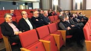 Kristinestads medborgarforum diksuterade vården.