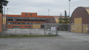 Baltic Yachts produktionshallar i Larsmo