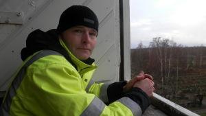 Fastighetschef Daniel Wikström vid Pedersörenejdens kyrkliga samfällighet