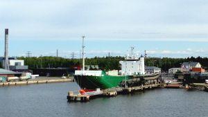 Mimer i hamn i Vasa