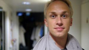 Komikern Christoffer Strandberg