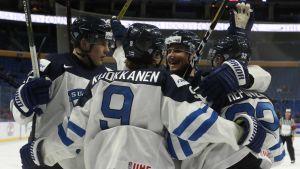 Juniorlejonen besegrade Slovakien 5-2.