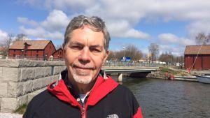 Göran Broman från Nyköpingspolisen