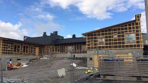 En av de nya delarna vid det som ska bli Kvevlax lärcenter.