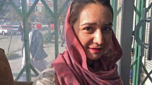 Shaqaiq Hamidi är en modig kvinnoaktivist i Kabul.