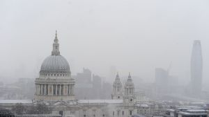 St Paul's Cathedral, London.