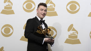 Sam Smith tog hem 4 grammy-statyetter 2015.