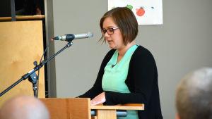 Lotte-Marie Uutinen, gruppordförande för SFP i Lovisa