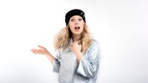 Alva är en av deltagarna i Tävlingen för ny musik, UMK, 2017.
