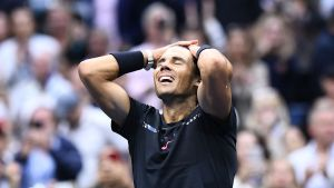 Rafael Nadal, US Open 2017.