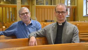 John Åsvik och Anders Lundström