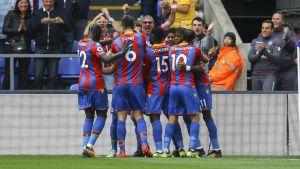 Palacespelare firar mål