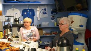 Kaféet i Ingman Arena i Söderkulla.