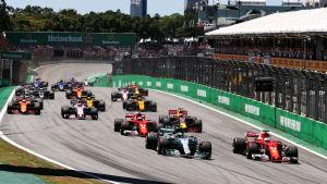 F1 Brasilien.