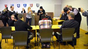 Häktningsförhandlingarna inleds mot den man som misstänks ha dödat sitt barn i Borgå