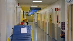 Akuten på Vasa centralsjukhus.