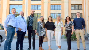 Sören Kock, Joakim Bonns, Henrik Rosvall, Hanna Rosvall, Saga Storbacka, Erica Hjerpe, Nina Ingves och Tim Teirfolk.