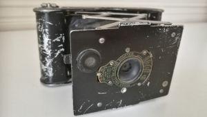 Antropologen Hilma Granqvists kamera som brodern Valter gav med henne till Palestina på 1920-talet.