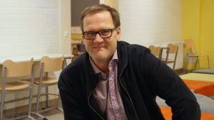 Keijo Paananen är rektor i Länsinummi skola.