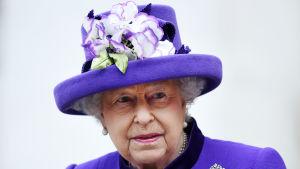 Storbritanniens drottning Elizabeth II efter en gudstjänst i London 24.11.2016