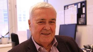 Ole Norrback är ordförande för Svenska pensionärsförbundet.