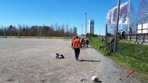 Fotbollsplanen vid Sursik i Pedersöre