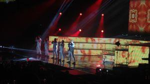 Backstreet Boys på scen