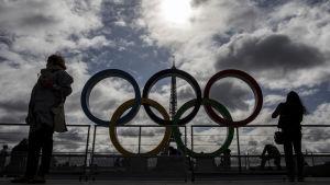 Olympiska ringarna i Paris, 2017.