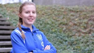 Porträttbild av Tanja Taipale ordförande för Virkby Start.