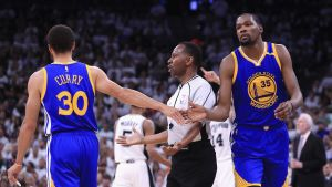 Steph Curry och Kevin Durant.