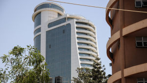 Hotellet Pearl of Africa i Kampala
