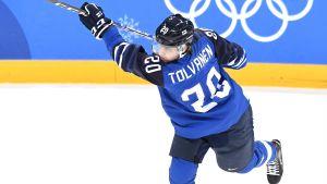 Eeli Tolvanen i OS