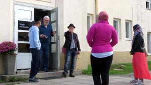Asysökande minderåriga i Borgå